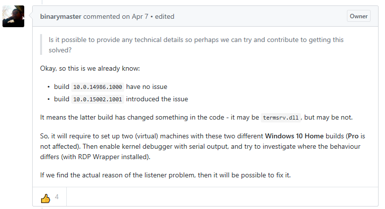 Rdp wrapper for windows 10 home