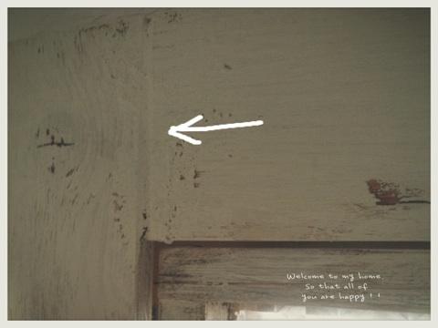 出入り口をひとつつぶして、セリアさんのA4フォトフレームを使って窓枠DIY工程編!!_c0325873_19591009.jpg