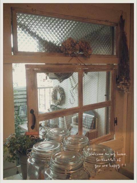 スモールガーデンをお部屋の中から楽しむために窓枠DIY♪_c0325873_19591396.jpg