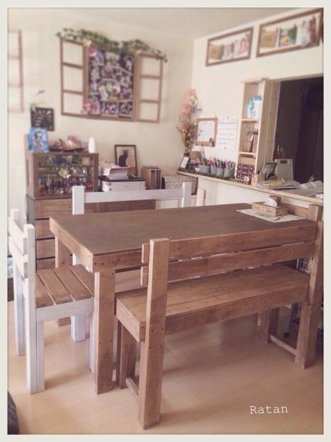 DIY仲間のラタンちゃんのDIYハウス♡_c0325873_20004831.jpg