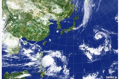 作りおきの仕上げ ✿ 気になる台風(´∵`)♪_c0139375_1147392.jpg