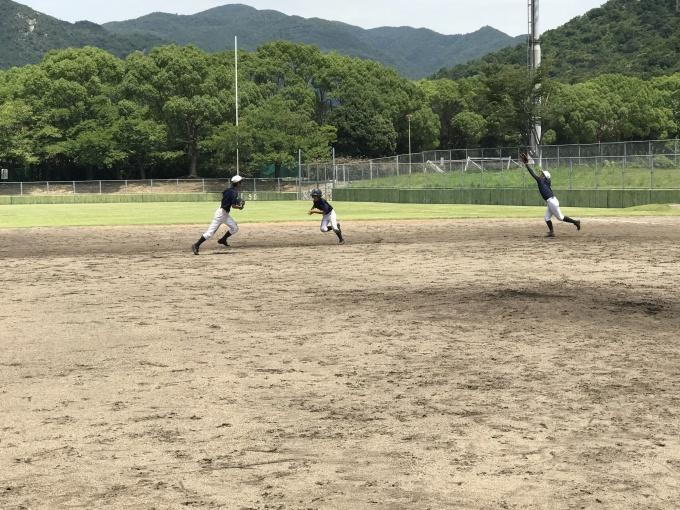 2年生練習開始。野球を知ろう。_f0209300_19521213.jpg