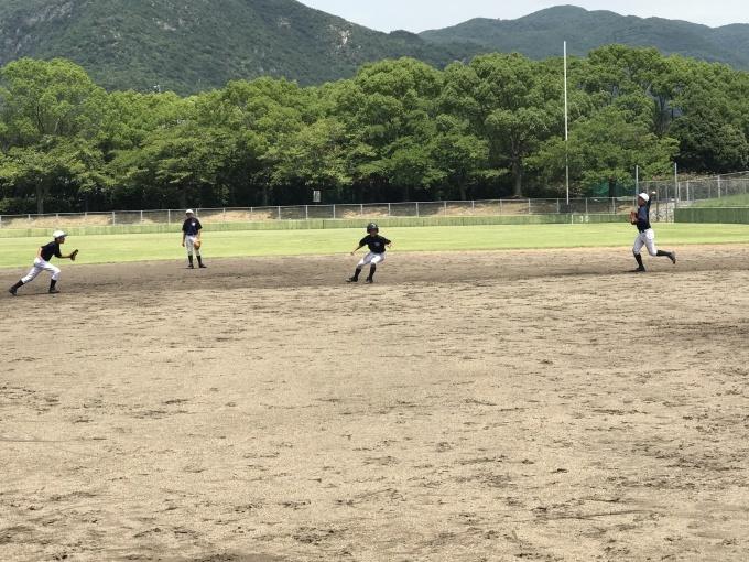 2年生練習開始。野球を知ろう。_f0209300_19522046.jpg