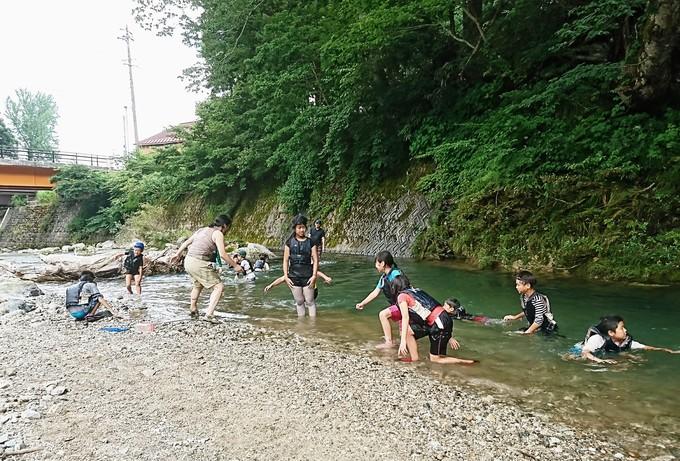 魚のようになって利賀川ウォッチング : 南砺利賀みらい留学の山里から ...