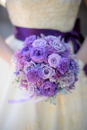 自分で手作りするブーケ 感謝のきもちとお花直し ホテルハーヴェスト旧軽井沢の花嫁さまより_a0042928_10531762.jpg