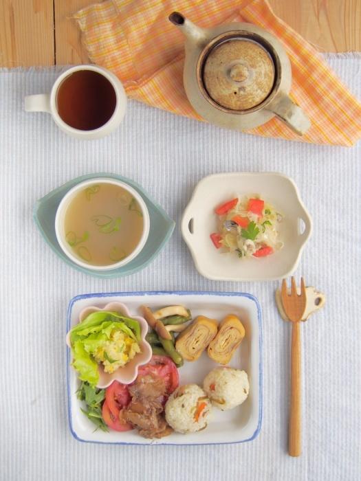 お弁当の朝ごはん_b0277136_13015888.jpeg