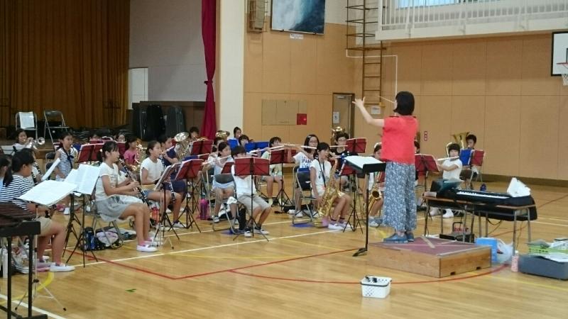 26日が音楽部7月最後の練習でした。_b0211757_07524382.jpg