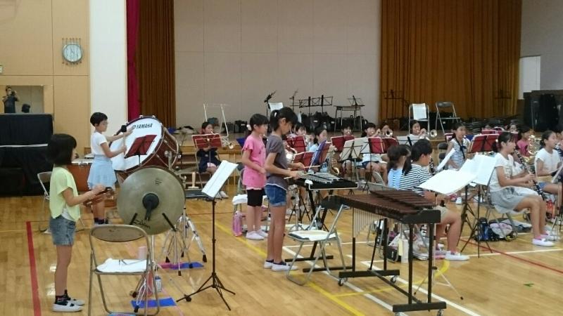 26日が音楽部7月最後の練習でした。_b0211757_07524562.jpg