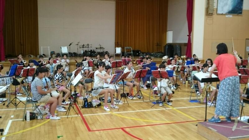 26日が音楽部7月最後の練習でした。_b0211757_07525782.jpg