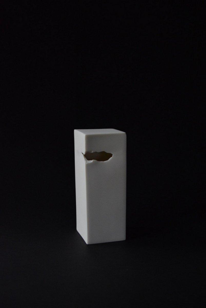 「 白石陽一展 土の現象 」 hollow-2_d0087761_1495282.jpg