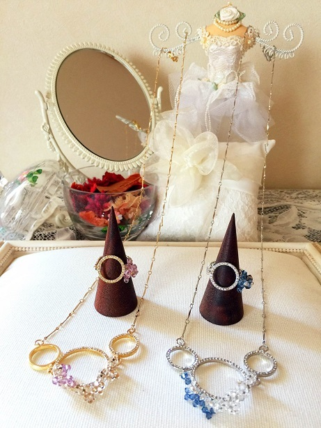 ❀Soap Bubbles Necklace & Ring❀_c0368764_14533204.jpg