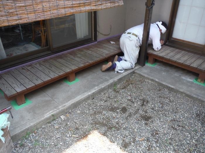 濡れ縁の塗装 ~ 小さな工事ですがお願いできないでしょうか。_d0165368_02083558.jpg