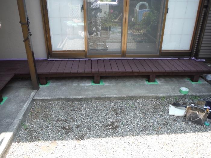 濡れ縁の塗装 ~ 小さな工事ですがお願いできないでしょうか。_d0165368_02090373.jpg