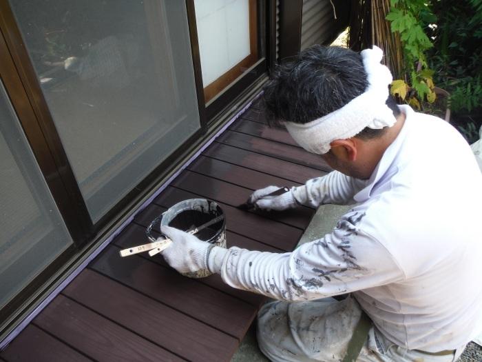 濡れ縁の塗装 ~ 小さな工事ですがお願いできないでしょうか。_d0165368_02091716.jpg