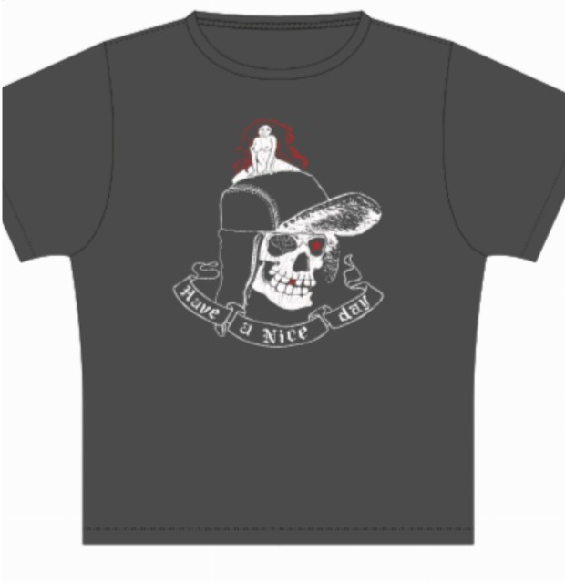 THREE FACE SKULL Tee_d0121303_11144784.jpg