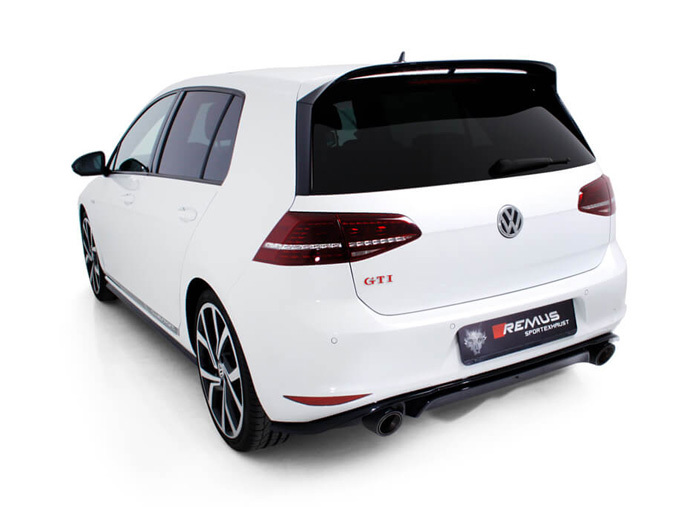 vw golf vii gti clubsport with remus zesta e style. Black Bedroom Furniture Sets. Home Design Ideas