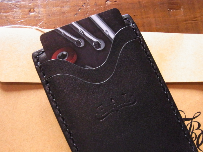 Saddle Leather Money Clip_d0179518_15203382.jpg