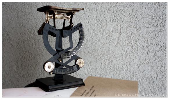 pèse-lettre ancien レタースケール 秤 ペーズレットル フランスアンティーク その1_d0184921_14254395.jpg
