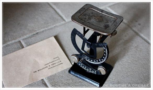 pèse-lettre ancien レタースケール 秤 ペーズレットル フランスアンティーク その1_d0184921_14504945.jpg
