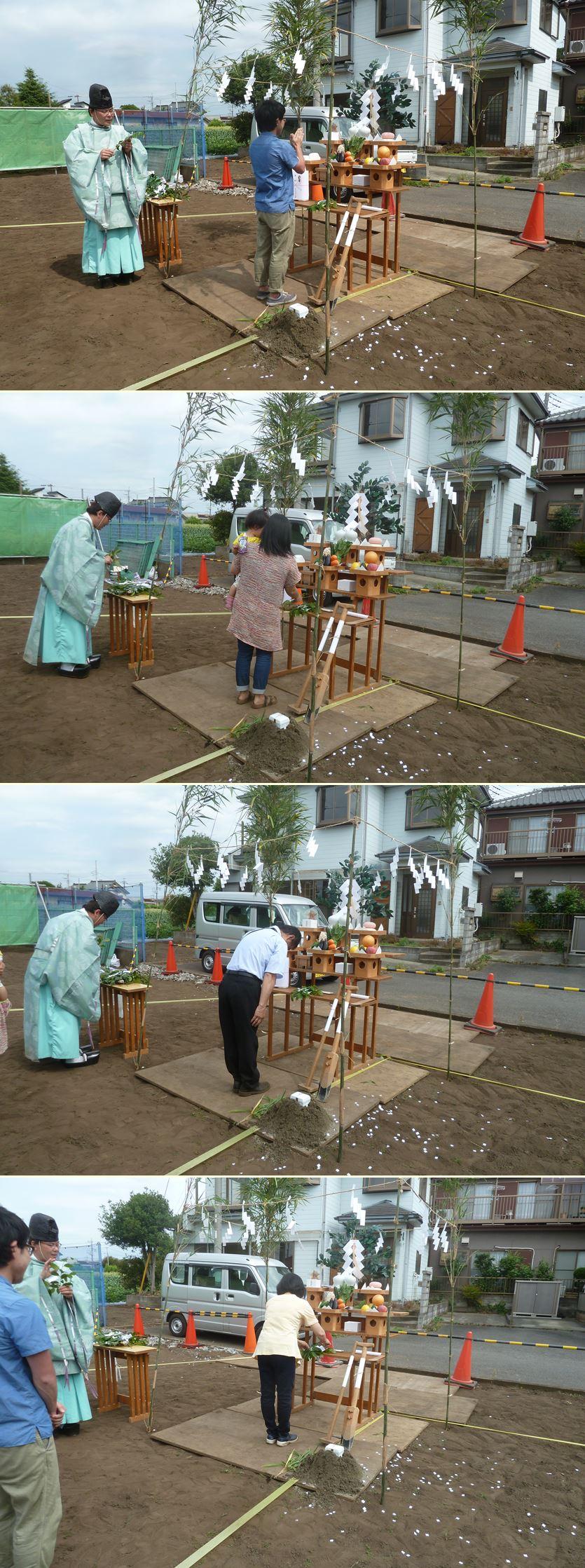 相模原市南区の家☆地鎮祭が執り行われました_c0152341_8122268.jpg