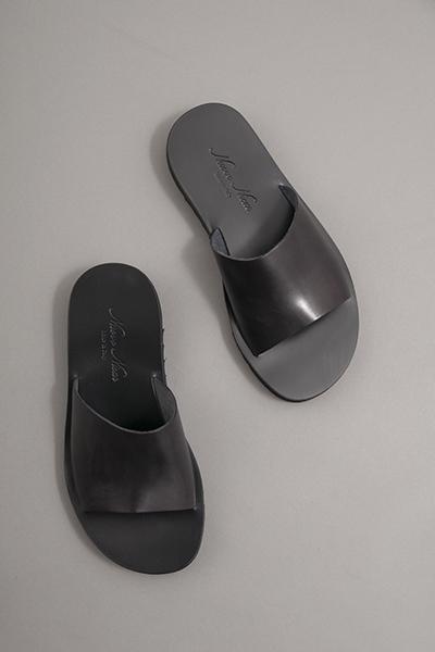 NUOVO NICAR  Leather Sandals (Black)_d0120442_147142.jpg