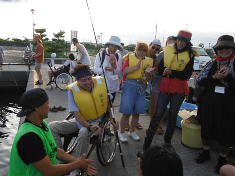 釣り教室ダブルヘッダー2焼津フィシューナ。_f0175450_1965372.jpg