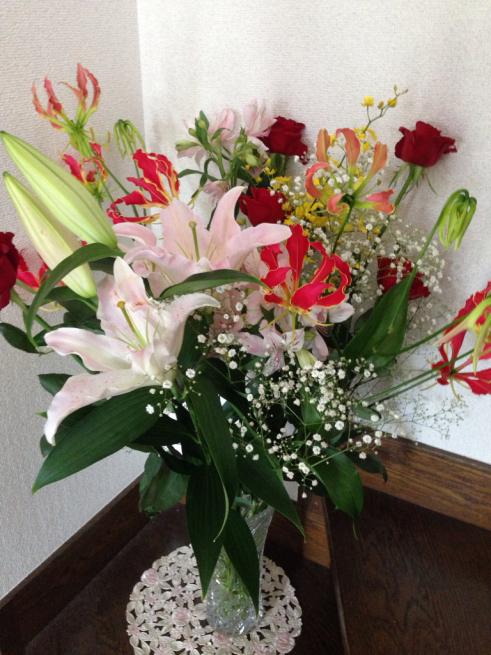 エールの花束を贈ります_c0185356_18064703.jpg