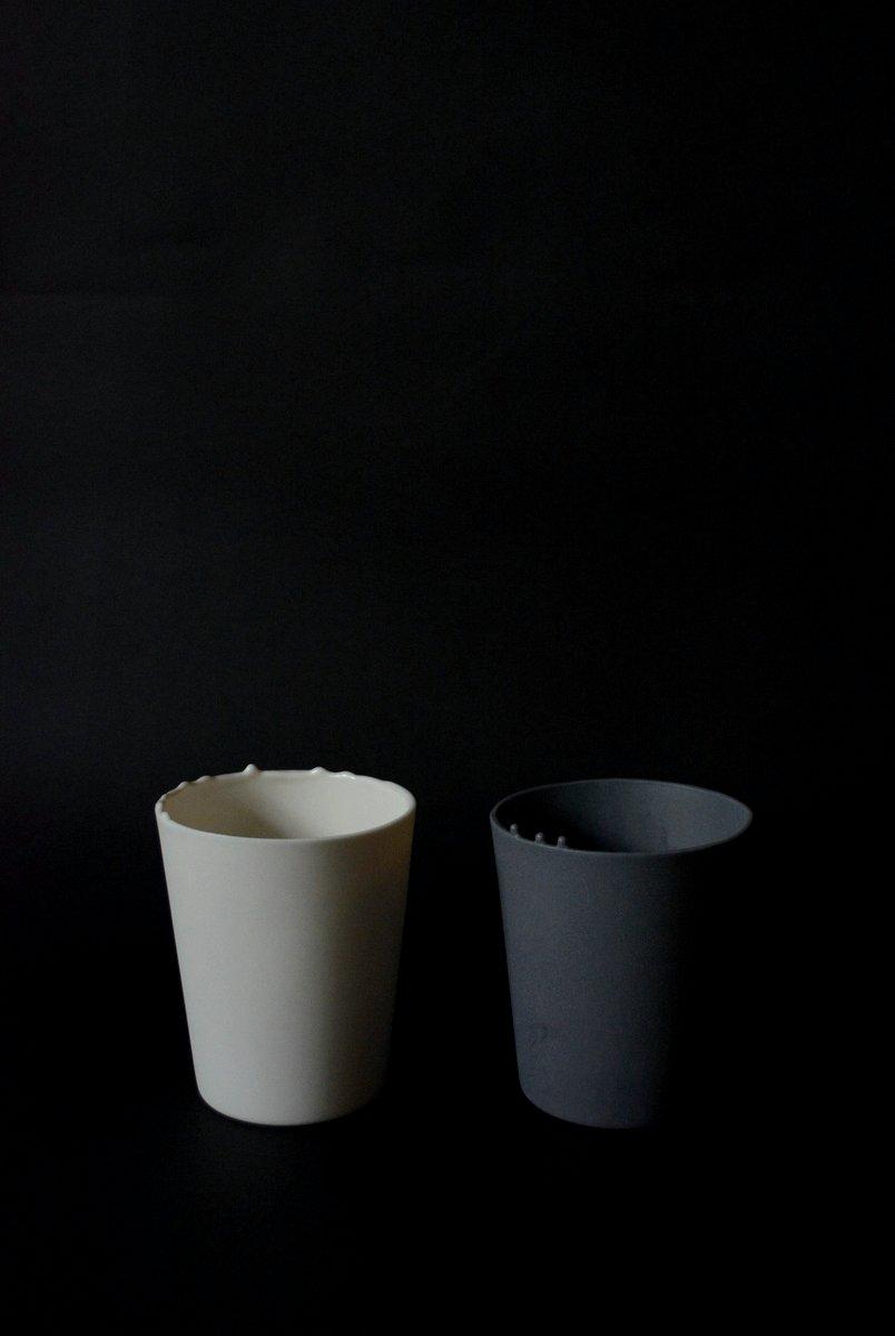 「 白石陽一展 土の現象 」 cup_d0087761_15327.jpg