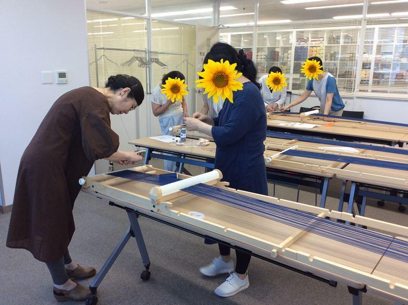 森先生『楽しい手織り』にお邪魔しました_c0357605_15043100.jpg