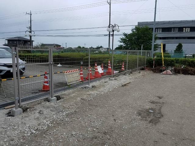 7/27 フェンス工事(M市I社様)_c0313938_14454307.jpg