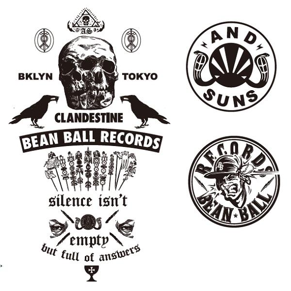 ANDSUNS × BEAN BALL RECORDS TEE 先行予約 START_d0175064_162482.jpg