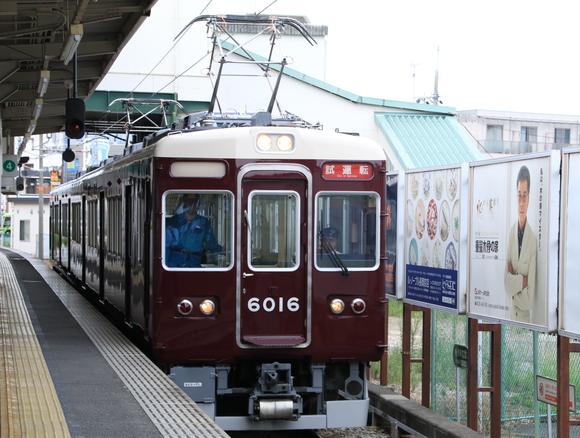 阪急6016F 試運転_d0202264_21232749.jpg