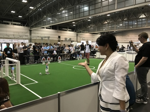 Robocup 2017 Japan! ロボカップ2017 世界大会が始まりました!_e0142585_16204026.jpg