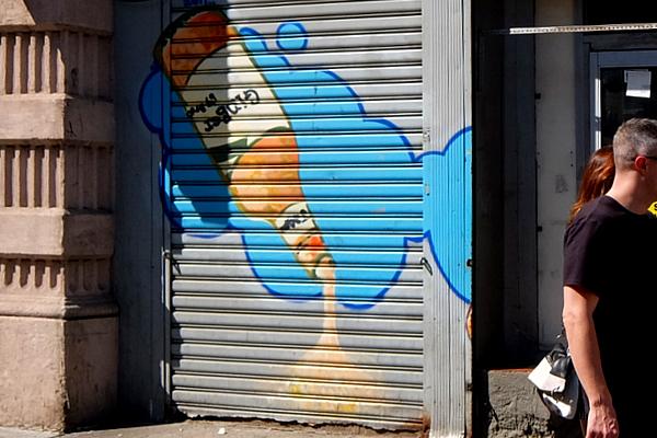 ニューヨークならではの隠れた名作アート「シャッターに描かれた絵」_b0007805_23213448.jpg