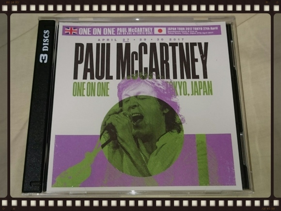 PAUL McCARTNEY / ONE ON ONE JAPAN TOUR 2017 TOKYO DOME 27th April_b0042308_00412884.jpg