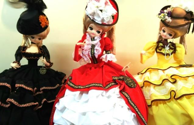 フランス人形♪_e0199317_16185955.jpg