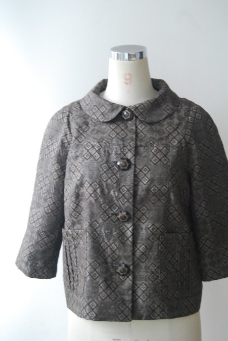 着物リメイク・大島紬からからショートジャケット_d0127925_12203110.jpg