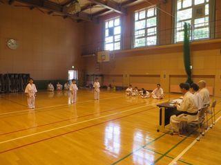 屯田教室 夏期昇級審査会_c0118332_13535140.jpg