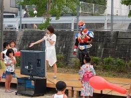 ご近所の夏祭り_e0175370_16260003.jpg