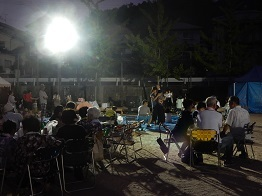ご近所の夏祭り_e0175370_16260640.jpg