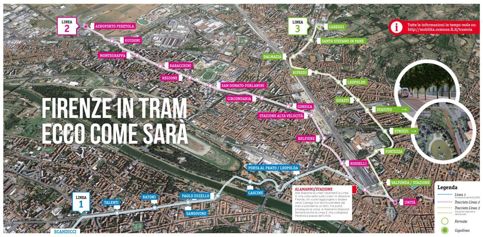 フィレンツェの新しいトラム路線と日本の技術_a0136671_03095885.jpg
