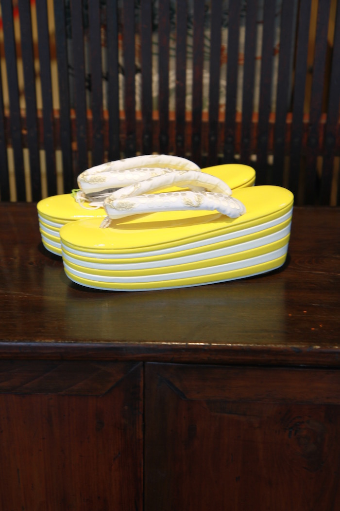 Fussaの草履(Yellow)_d0335577_11220871.jpg