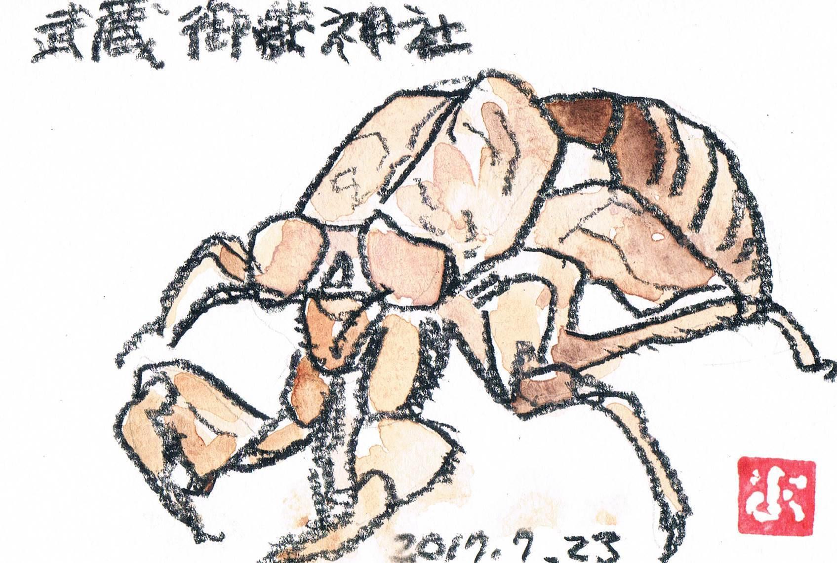 武蔵御嶽神社の守護神_e0232277_11202223.jpg