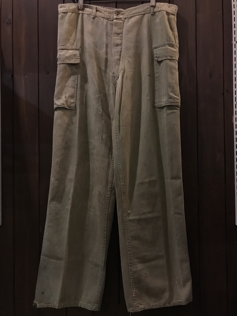 神戸店8/2(水)ヴィンテージ入荷! #1WWⅡ War Aid Jungle Pants! US.Army Item!!!_c0078587_15491598.jpg