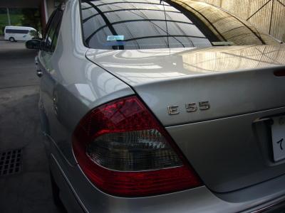 メルセデスベンツ AMG E55 車検整備_c0267693_10505072.jpg