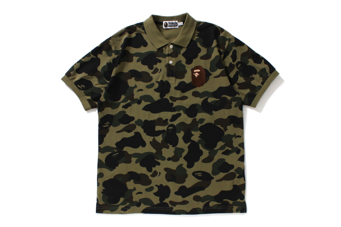 1ST CAMO LARGE APE HEAD POLO_a0174495_12523827.jpg