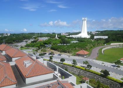 展望台からの平和祈念公園の風景_b0312424_22172970.jpg