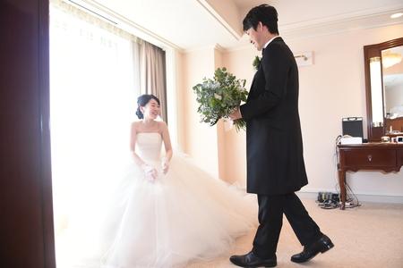 新郎新婦様からのメール 帝国ホテルの花嫁様より 緑をいっぱいにあふれるほどに _a0042928_14165632.jpg
