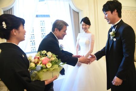 新郎新婦様からのメール 帝国ホテルの花嫁様より 緑をいっぱいにあふれるほどに _a0042928_1417942.jpg