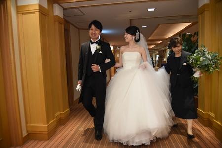 新郎新婦様からのメール 帝国ホテルの花嫁様より 緑をいっぱいにあふれるほどに _a0042928_1555026.jpg